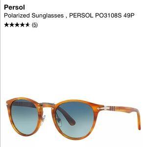 Persol sunglasses. Type Writer edition PO3108S. Polarized.